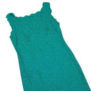 Adrianna Papell Dresses - Adrianna Papell Sleeveless Lace Cocktail Dress